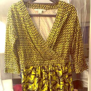Diane von Furstenberg mini silk dress